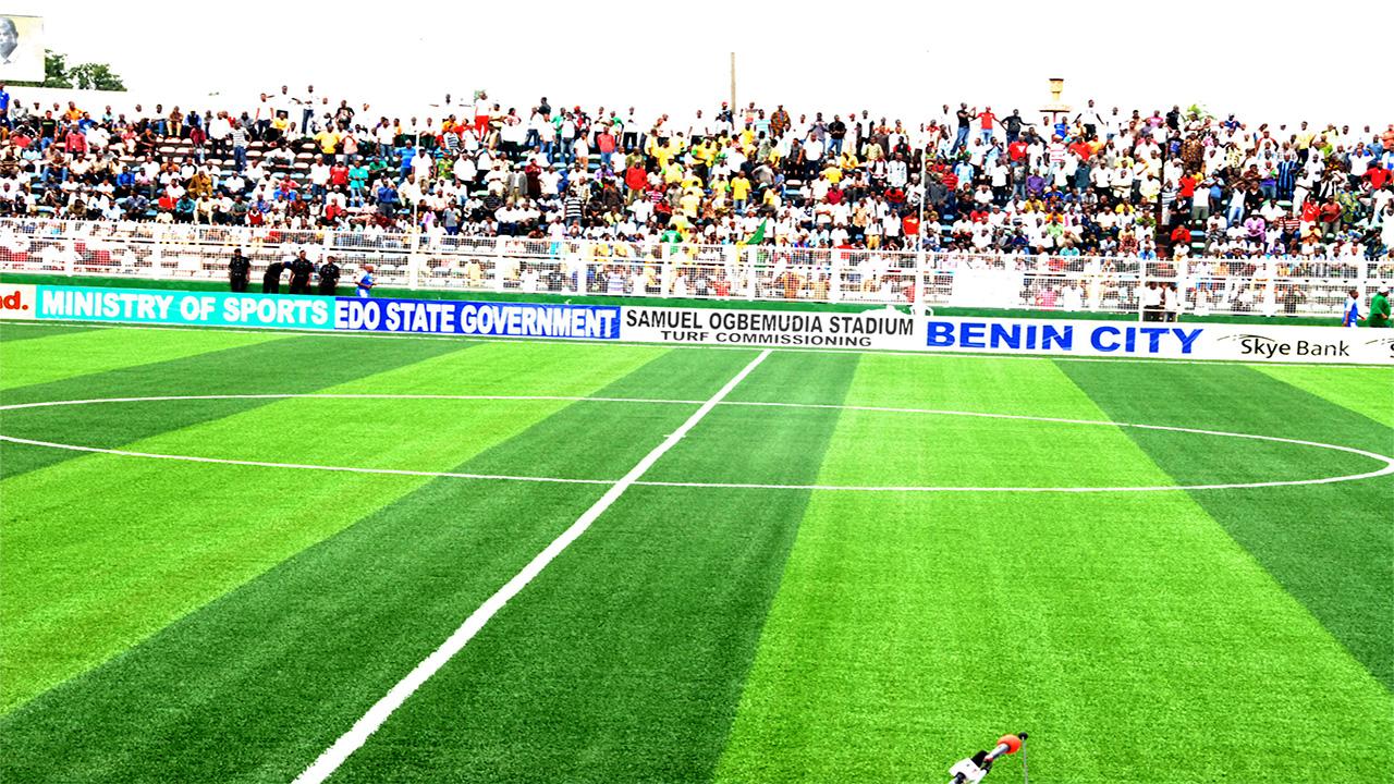 Sam Ogbemudia Stadium, Benin.