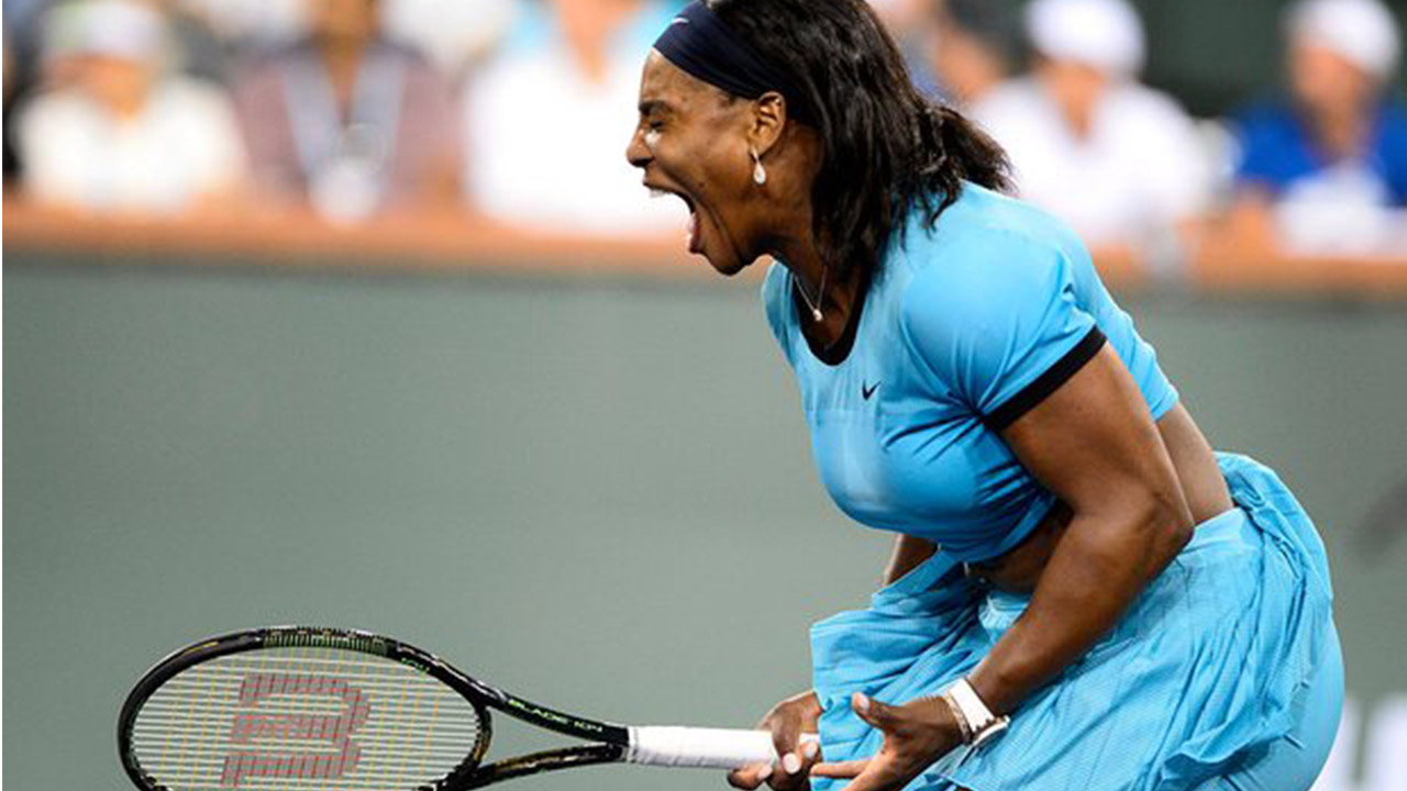 Ion Tiriac has indicated that the Madrid Open will no longer pay women players, including Serena Williams, the same amount that it pays men. PHOTO: AFP.