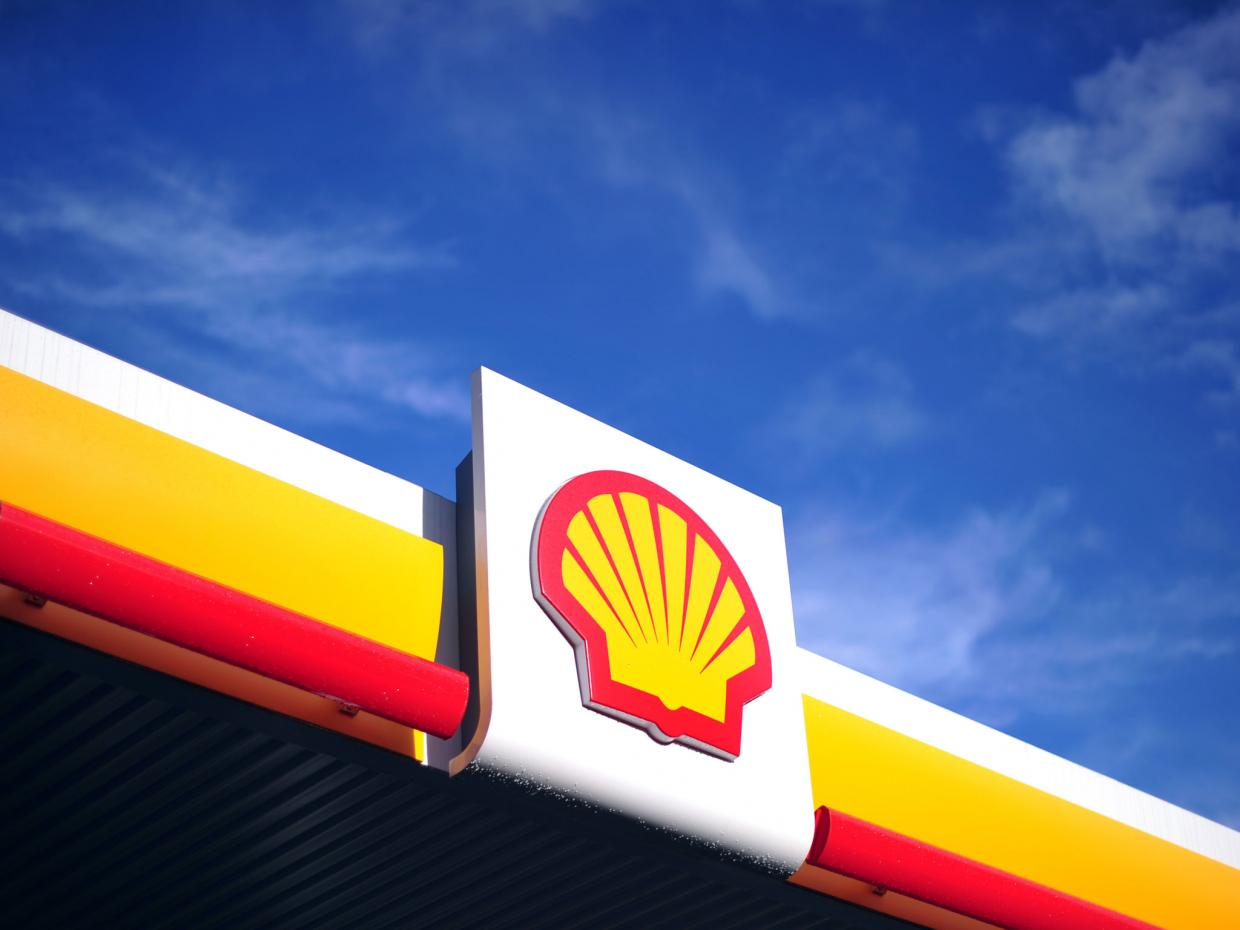 The Anglo-Dutch oil and gas giant pledged not to over-react to the falling prices AFP/Getty