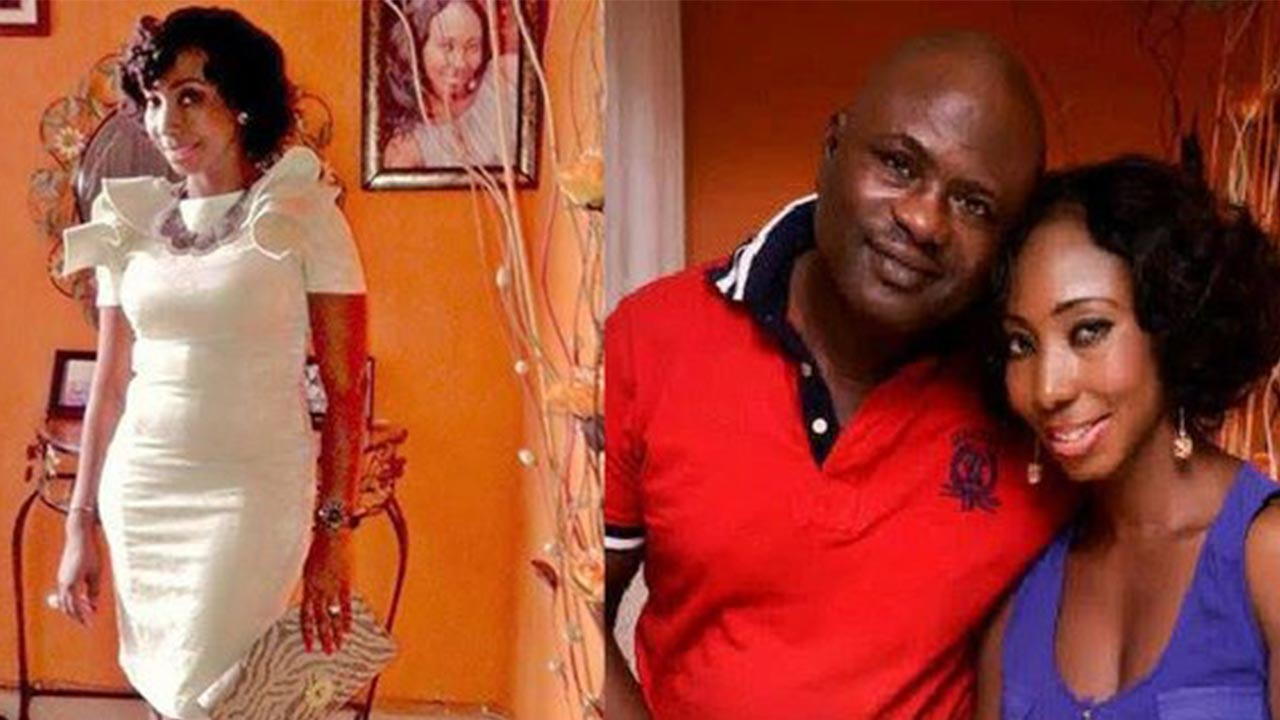 Lekan Shonde and his late wife