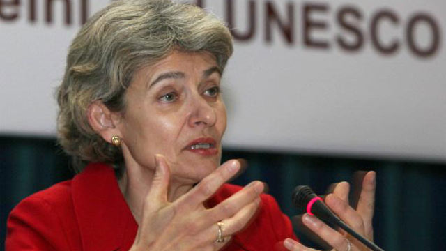 DG of UNESCO, Irina Bokova