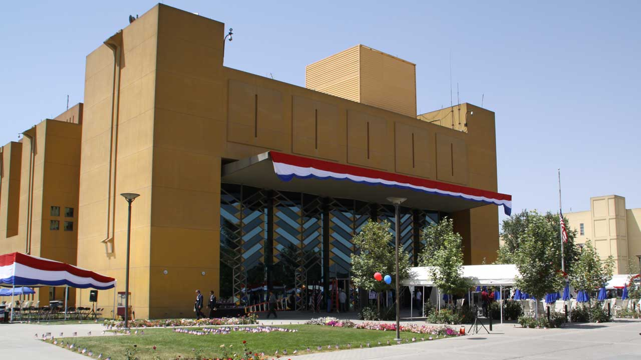 US Embassy, Kabul.
