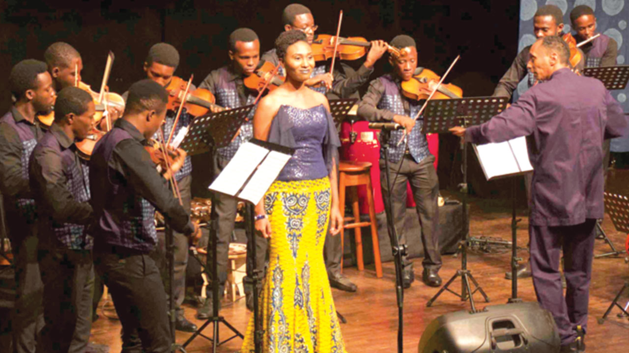 The MUSON Ensemble during their performance