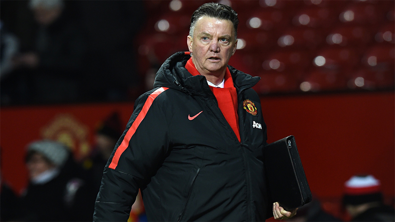 Louis van Gaal has reiterated his belief that he will still be at the club next season. PHOTO: AFP