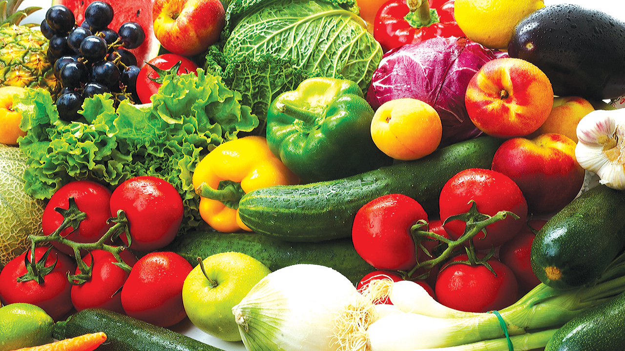 Vegetables...    A study has shown that going vegetarian for at least 17 years, extends a person's life expectancy by 3.6 years. Physicians should advise patients to limit animal products when possible and consume more plants than meat.                       PHOTO CREDIT: google.com/search