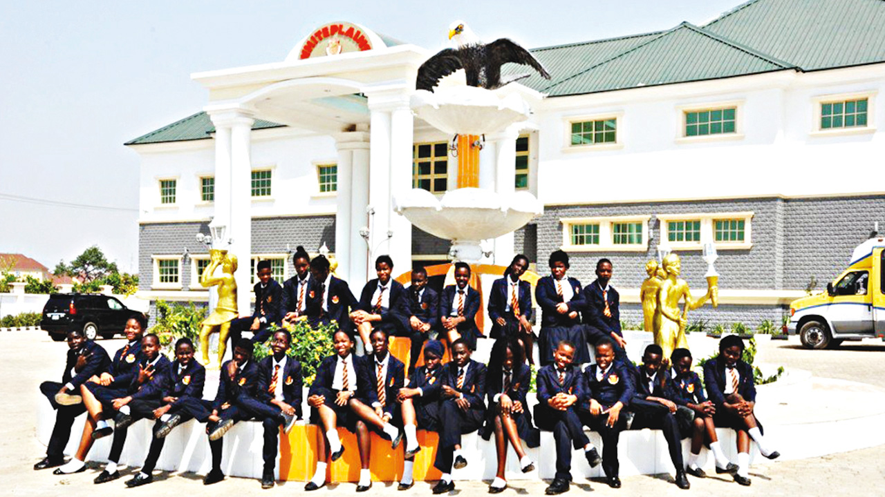 Students of Abuja-based Whiteplains British School