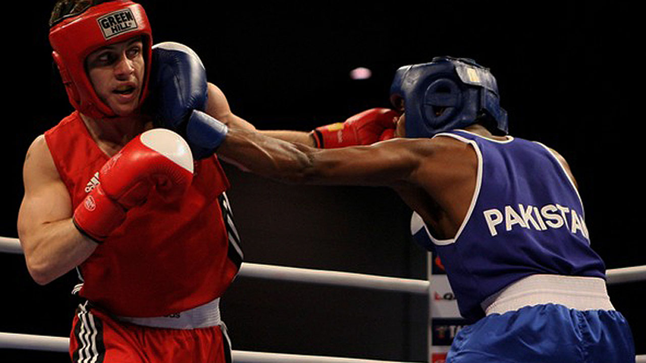 Olympics boxing event. PHOTO:AFP
