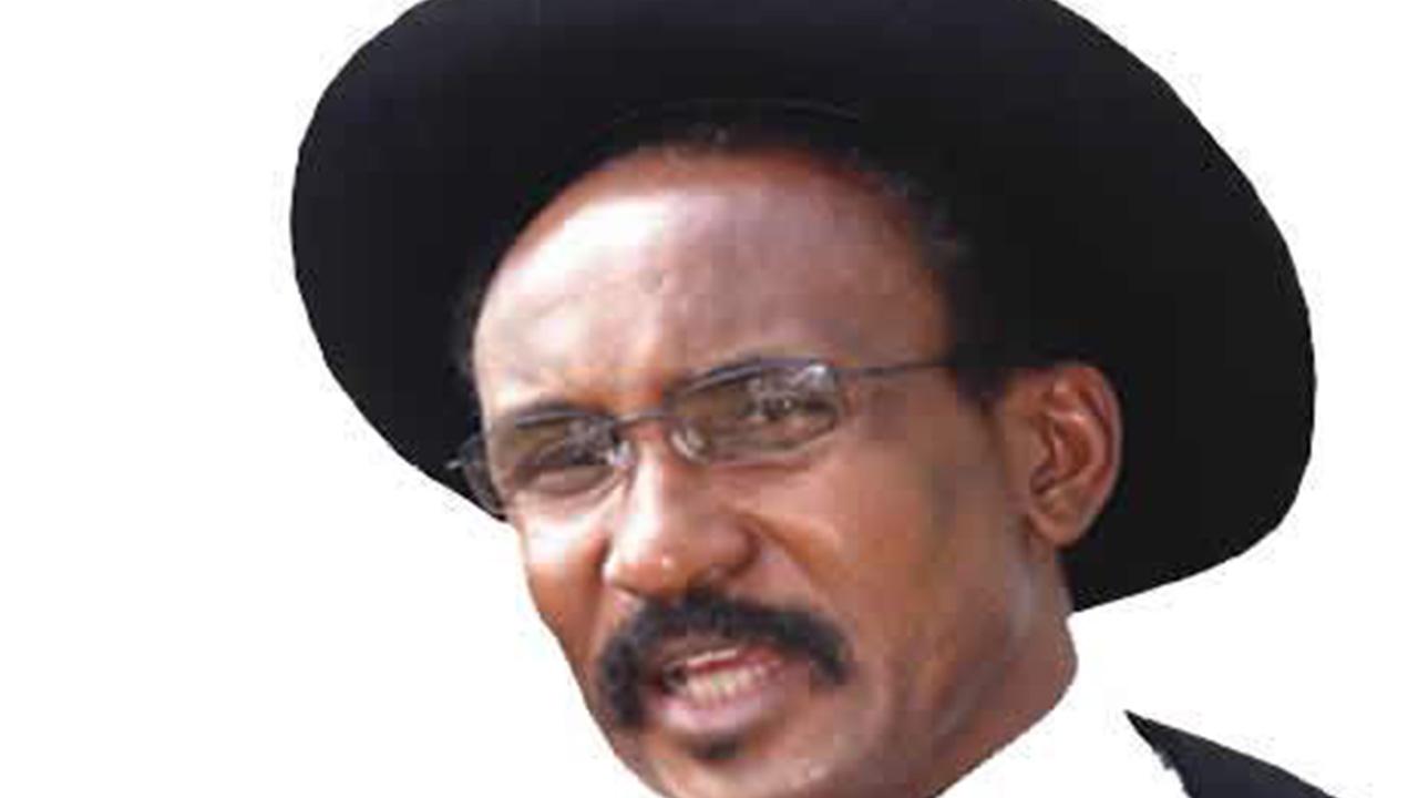 Former Governor of Kaduna State and human rights activist, Colonel Abubakar Dangiwa Umar.