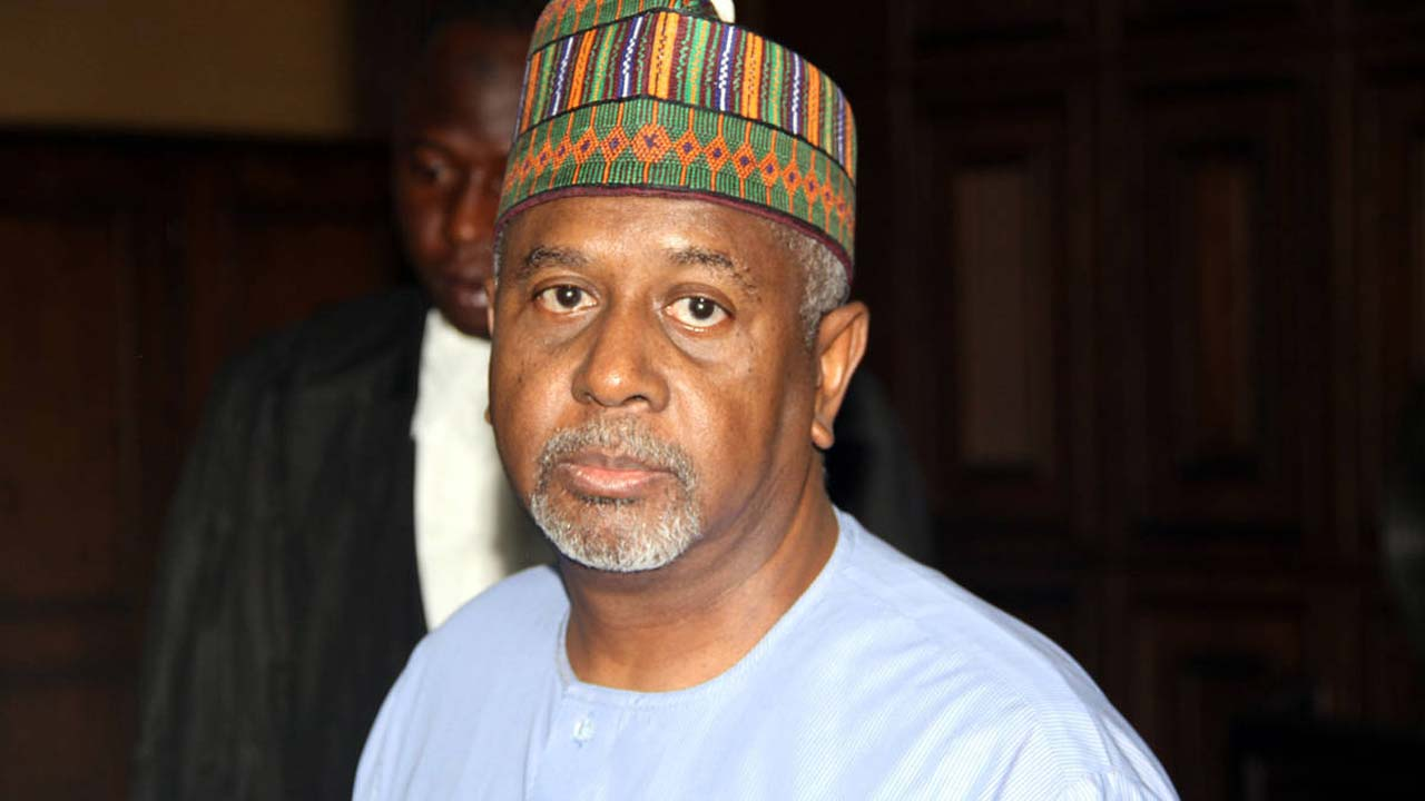 Former national security adviser (NSA), retired Col. Sambo Dasuki PHOTO: NAN