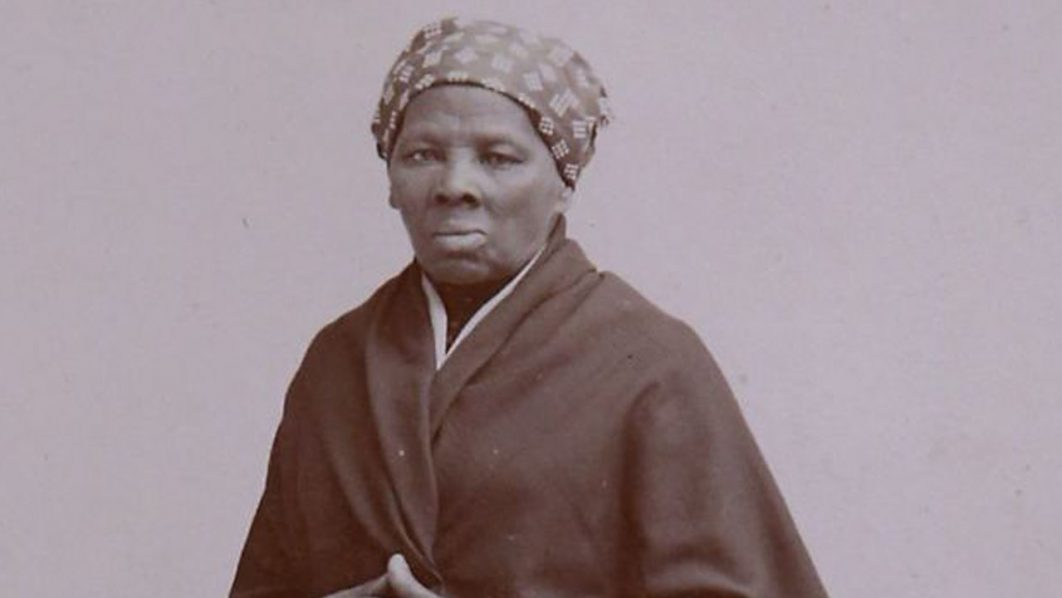 A recently-found photograph of escaped slave, abolitionist and Union spy Harriet Tubman that was acquired by the Smithsonian is displayed in the Longworth House Office Building on Capitol Hill June 17, 2015 in Washington, DC