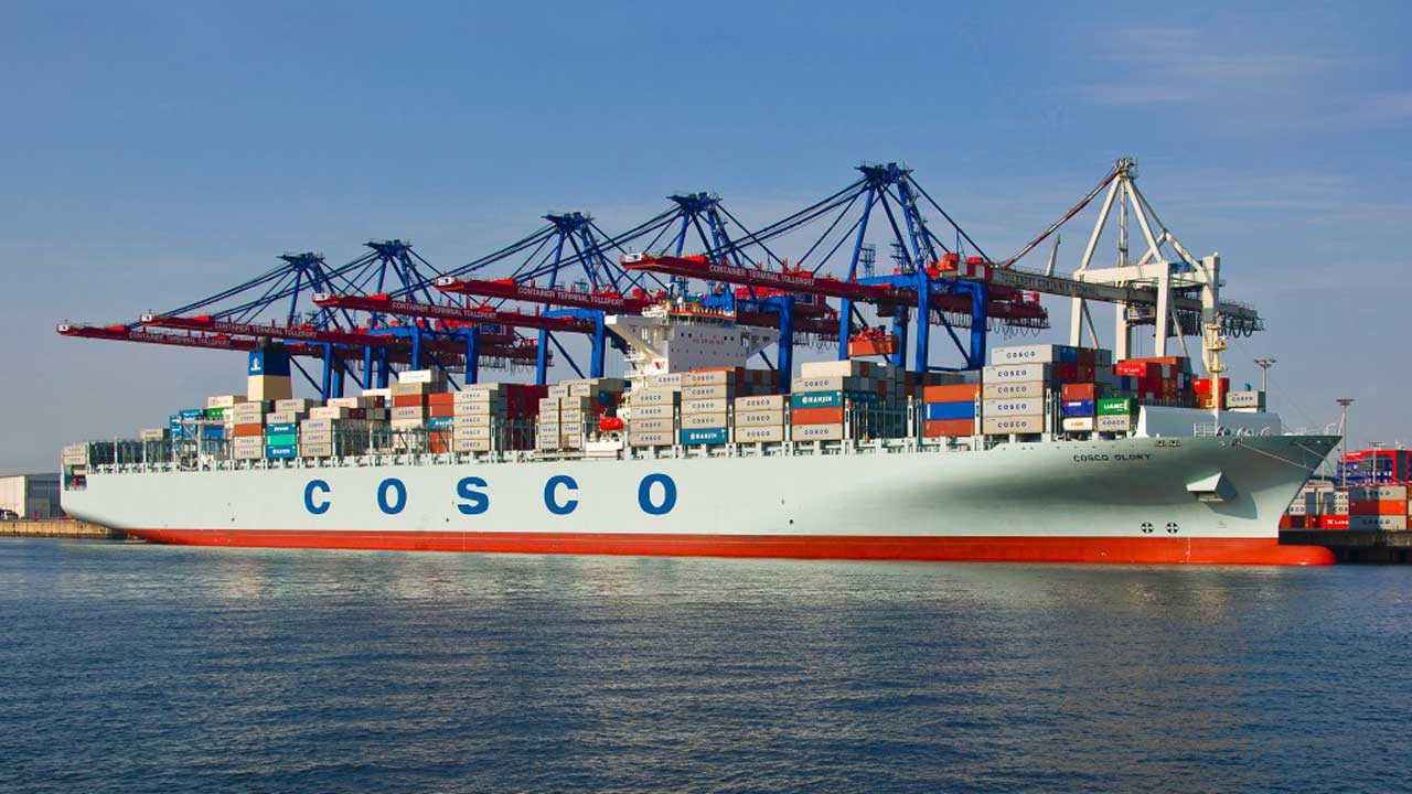 Cosco Ship