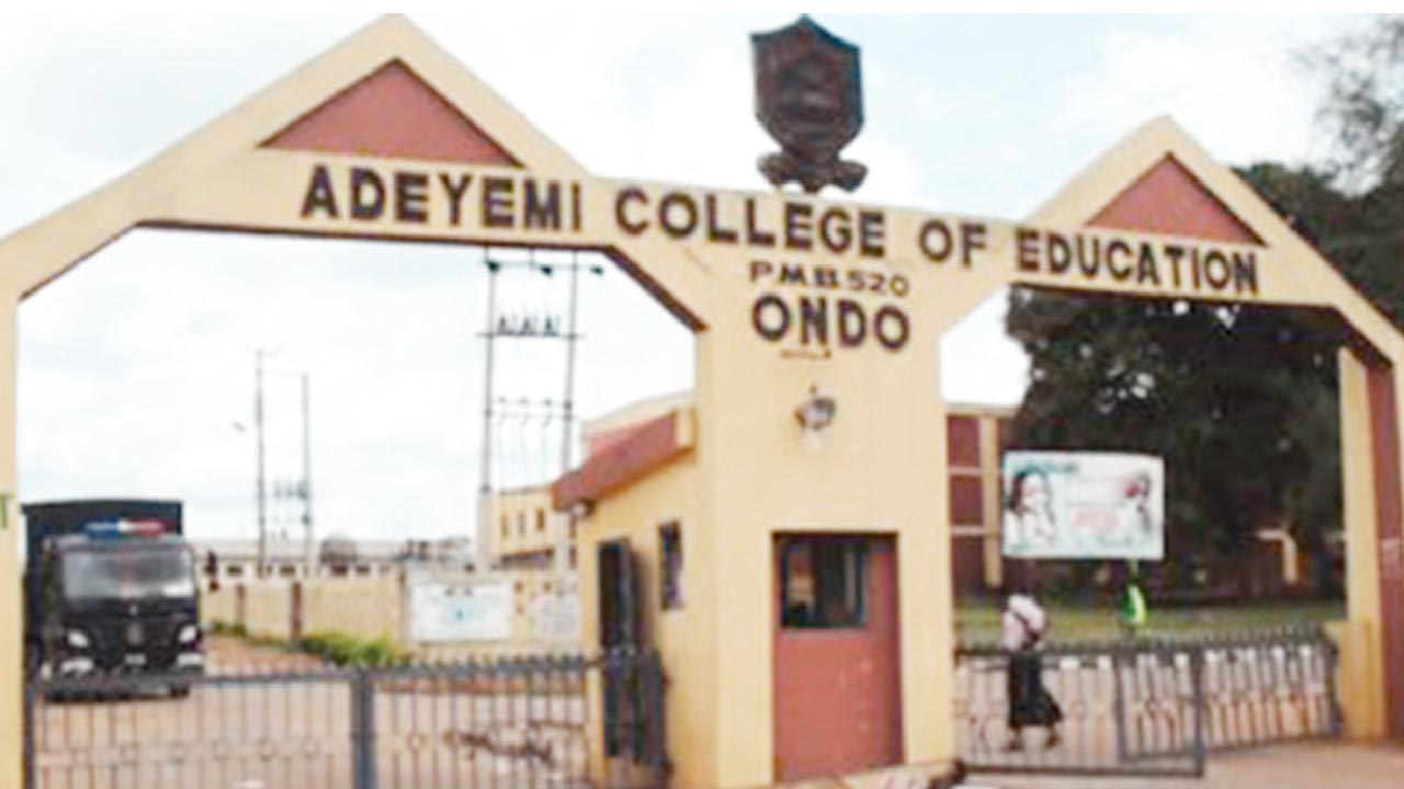 Adeyemi College of Education, Ondo