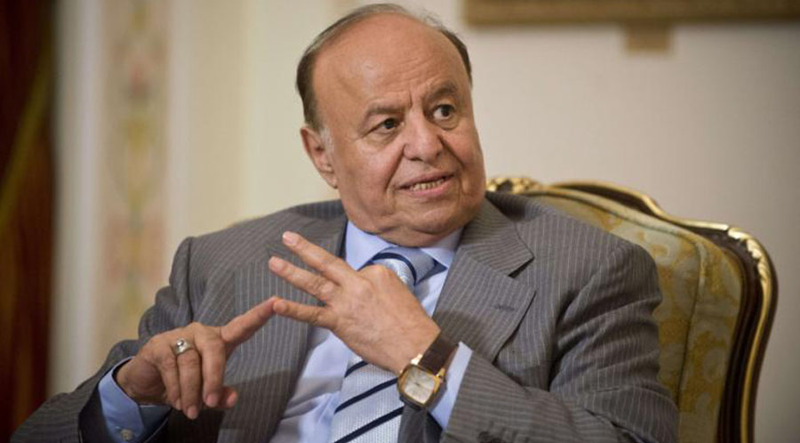 Yemeni President Abed-Rabbo Mansour Hadi. AFP/Natalia Kolesnikova