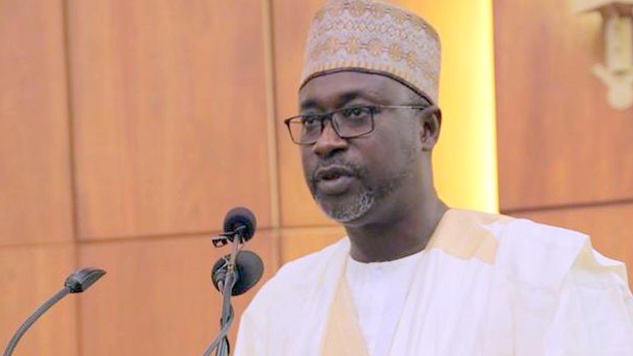 Minister of Water Resources, Mr. Suleiman Adamu