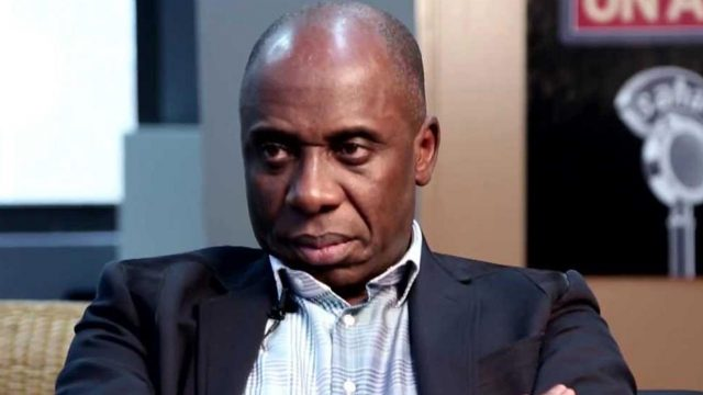 Amaechi urges Nigerians to commend Buhari's economic agenda