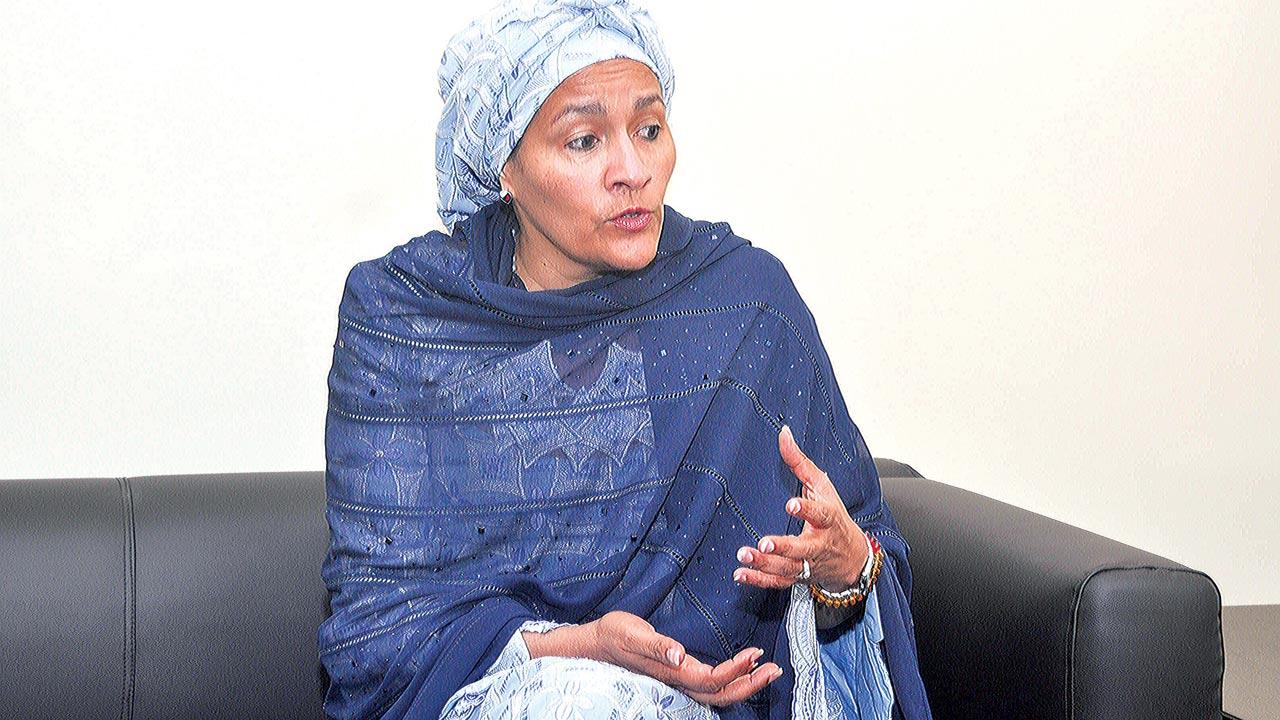 Mrs. Amina Mohammed,