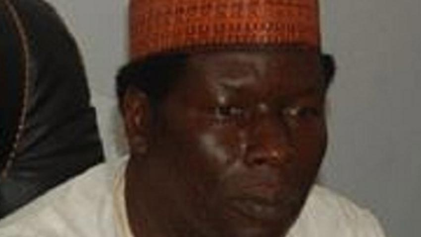 Professor Andrew Haruna, Vice-Chancellor of the Federal University, Gashua, Yobe state.