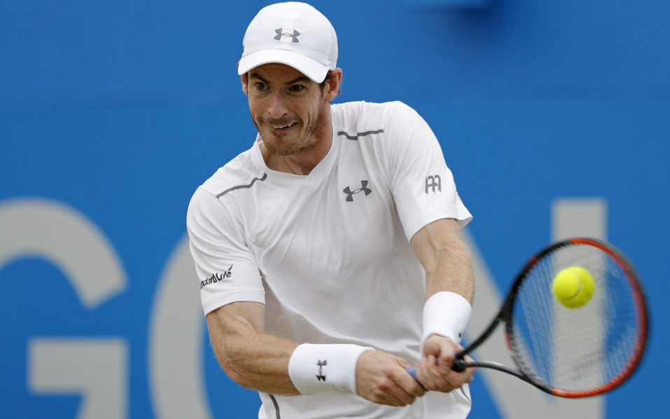 Andy Murray / AFP PHOTO / ADRIAN DENNIS