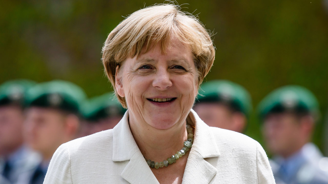 German Chancellor Angela Merkel.  / AFP PHOTO / CLEMENS BILAN