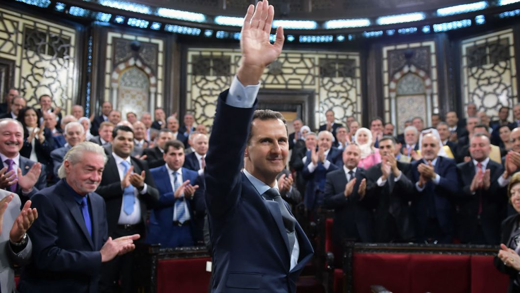 Syrian President Bashar al-Assad  / AFP PHOTO / SANA / HO /