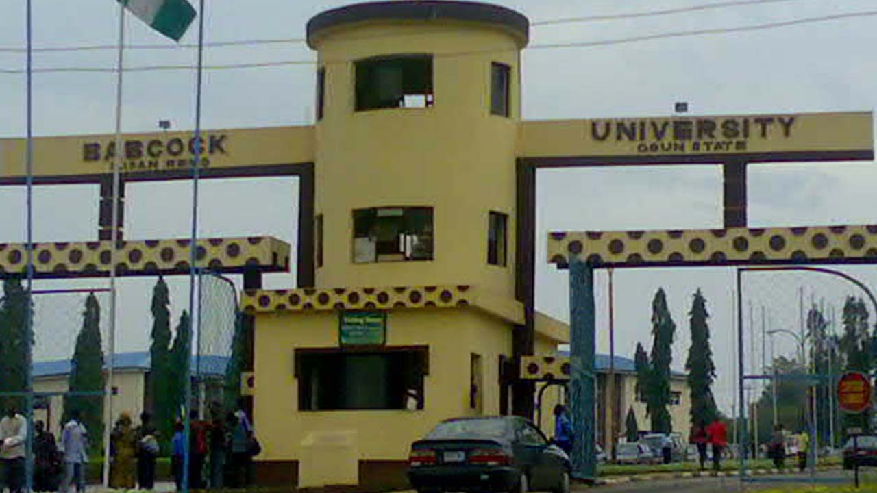 Babcock University, Main Entrance. Photo: Guardian Nigeria