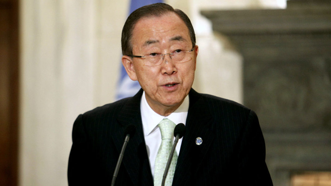 UN Secretary-General Ban Ki-moon / AFP PHOTO / Eurokinissi / Yorgos KONTARINIS