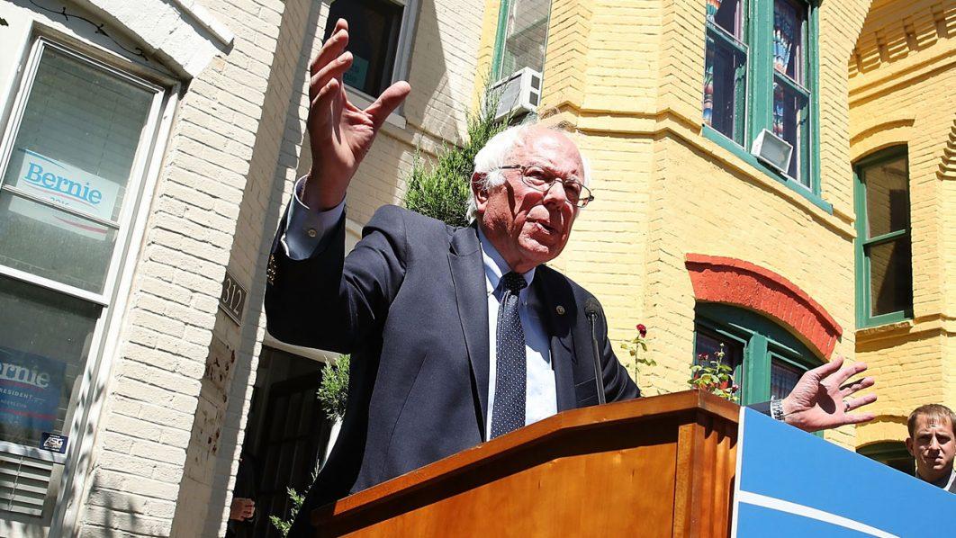 Bernie Sanders. Mark Wilson/Getty Images/AFP