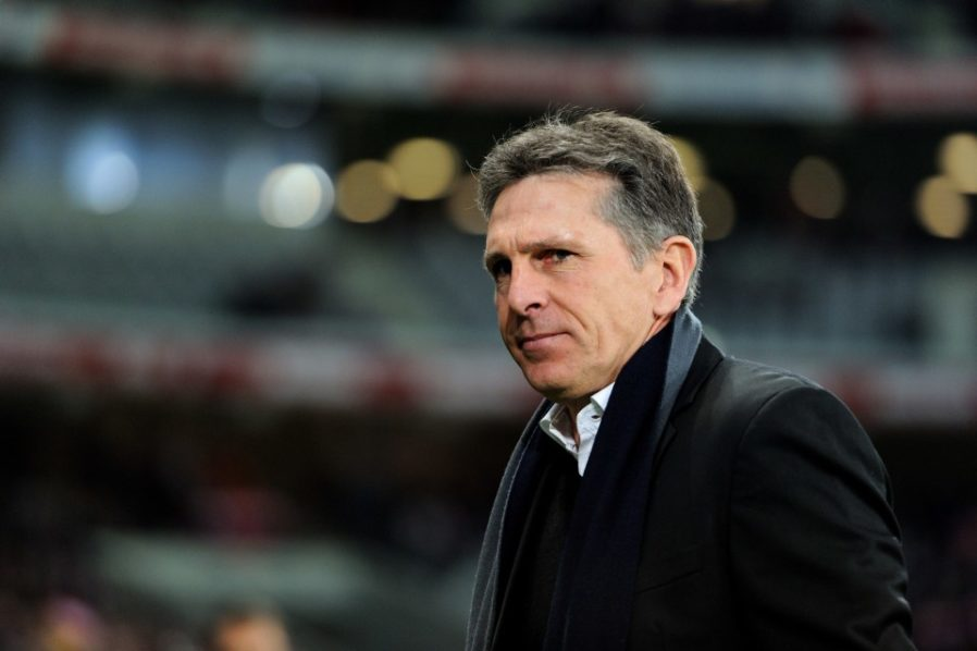 Claude Puel. AFP PHOTO / PHILIPPE HUGUEN