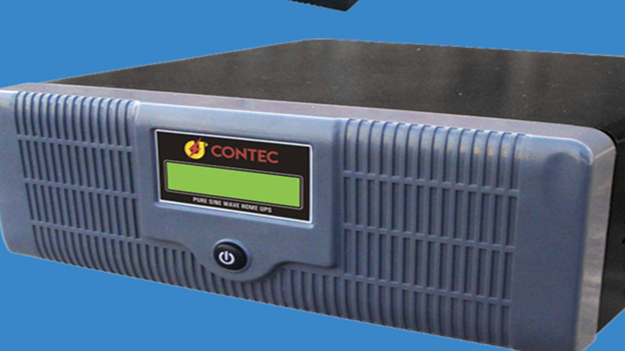 Inverter power by Contec Power System.