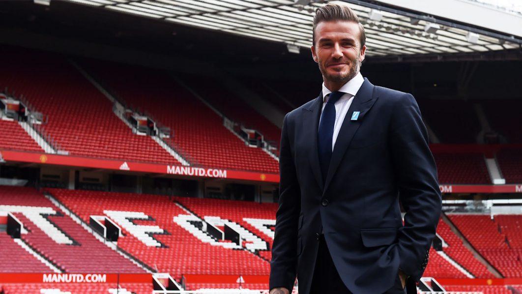 David Beckham  / AFP PHOTO / PAUL ELLIS