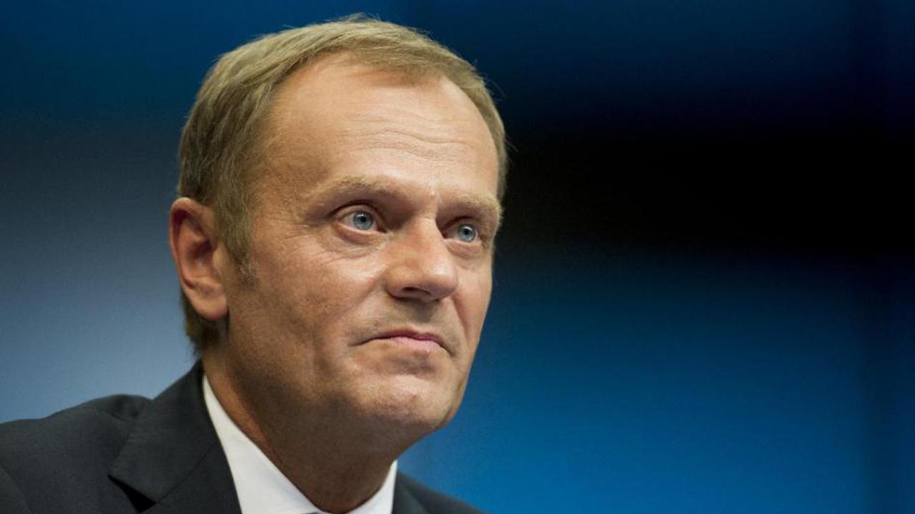 The president of the European Union, Donald Tusk PHOTO: AFP