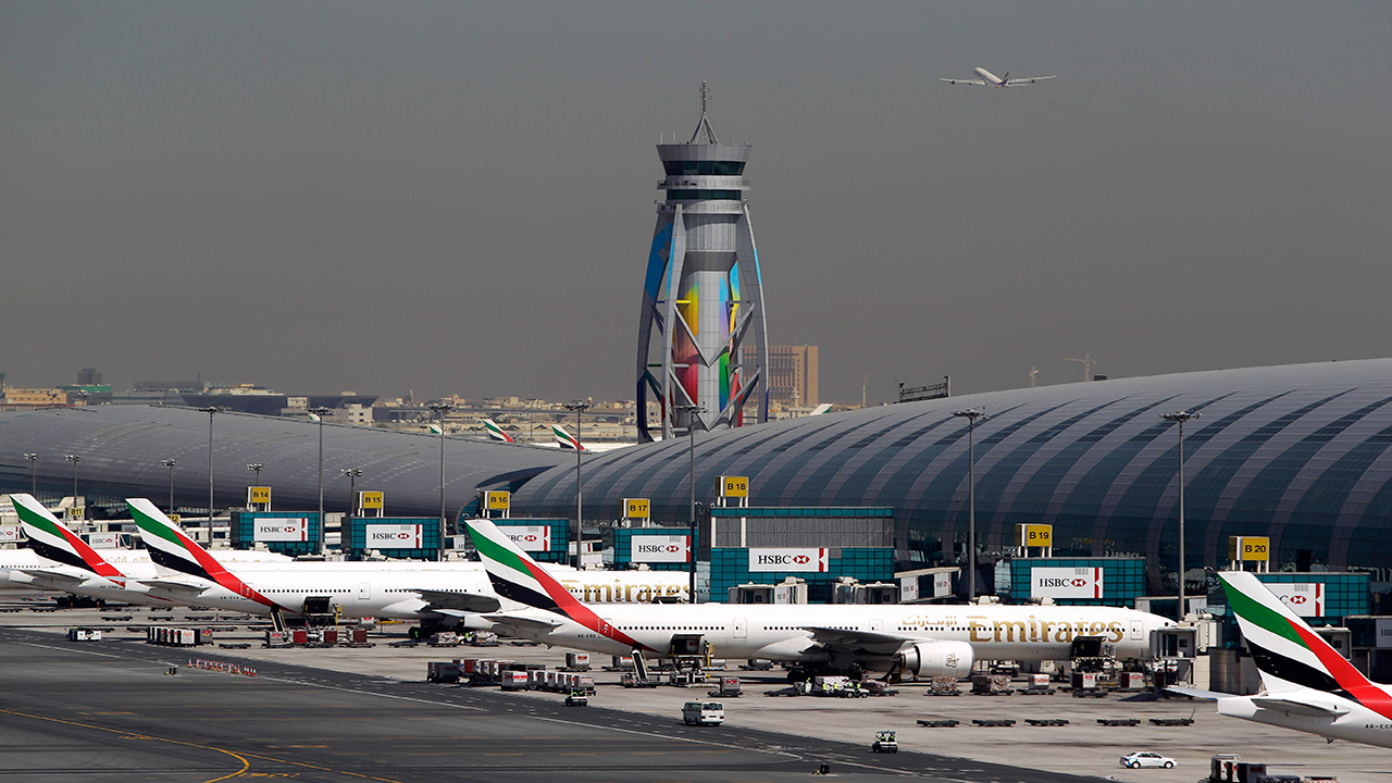 Drone disrupted air traffic at Dubai International Airport for more than an hour on Saturday. PHOTO: AFP