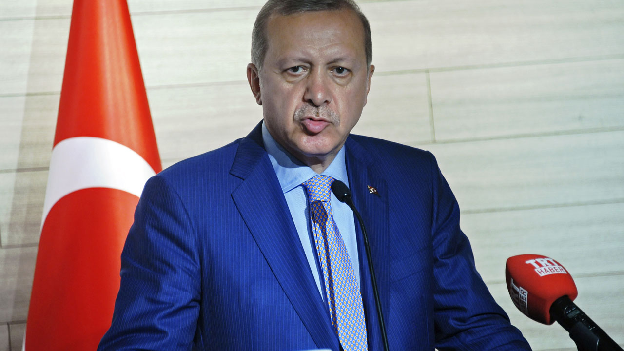 Turkey's President Recep Tayyip Erdogan / AFP PHOTO / MOHAMED ABDIWAHAB