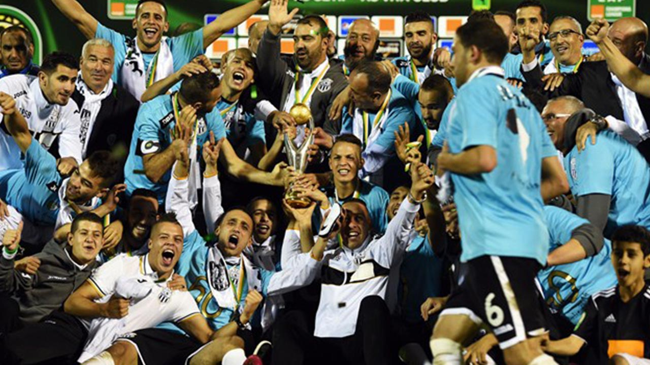 2014 CAF Champions Leagues Winner, Es Setif of Algeria has been disqualified from the on-going 2016 Champions League by CAF. PHOTO: AFP