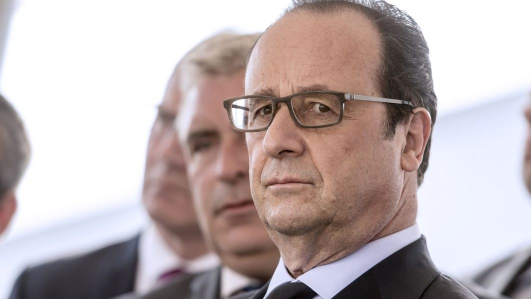 French President François Hollande / AFP PHOTO / PHILIPPE HUGUEN