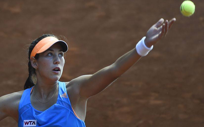 Spanish player Garbine Muguruza. AFP PHOTO / PIERRE-PHILIPPE MARCOU / AFP PHOTO / PIERRE-PHILIPPE MARCOU