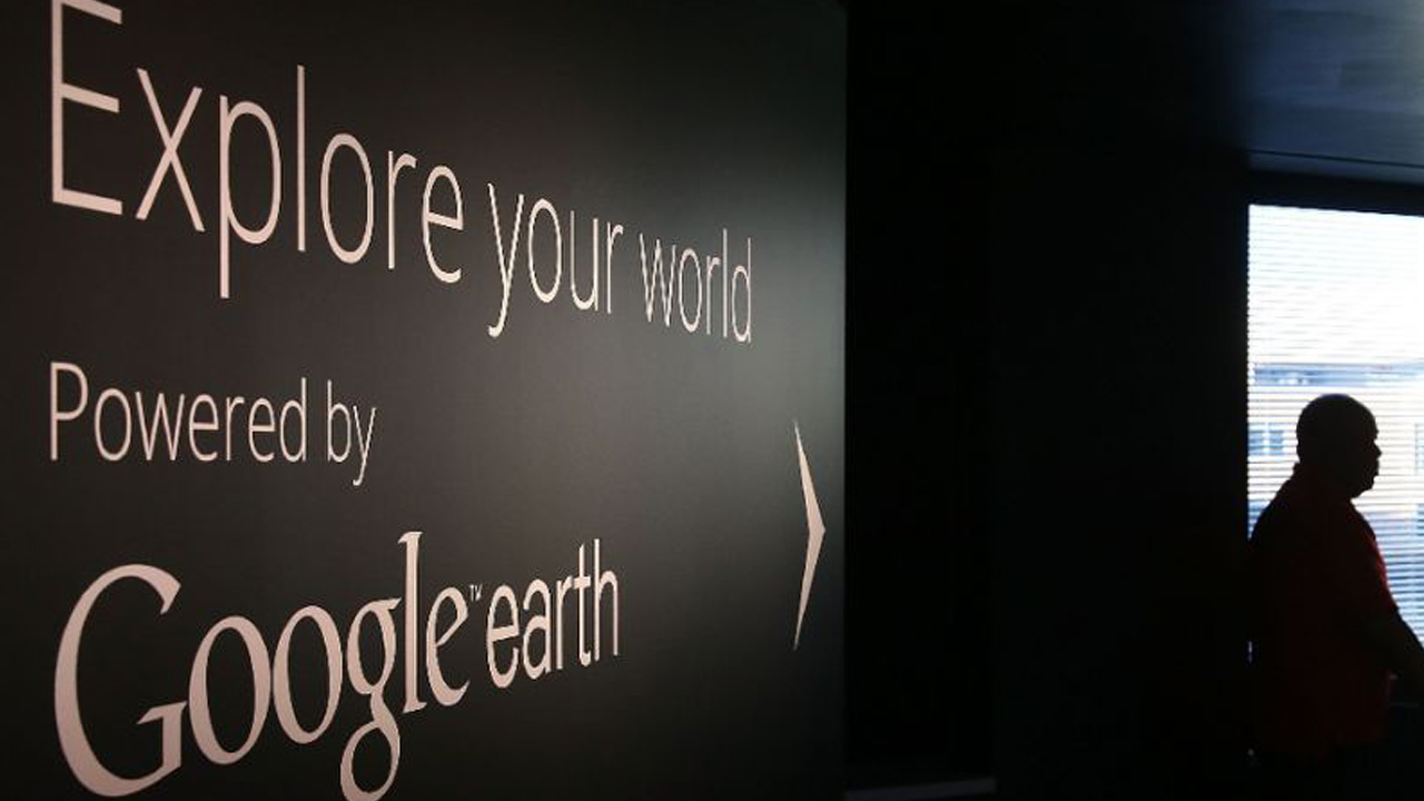 Google Earth begins rolling out a new version that uses new techniques to process sharper images gathered by the satellite sent into orbit in 2013. PHOTO: AFP/MARK WILSON