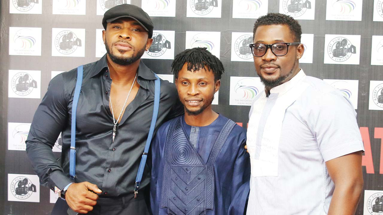 From left: Enyinna Nwigwe, Asurf Oluseyi and Daniel K Daniel