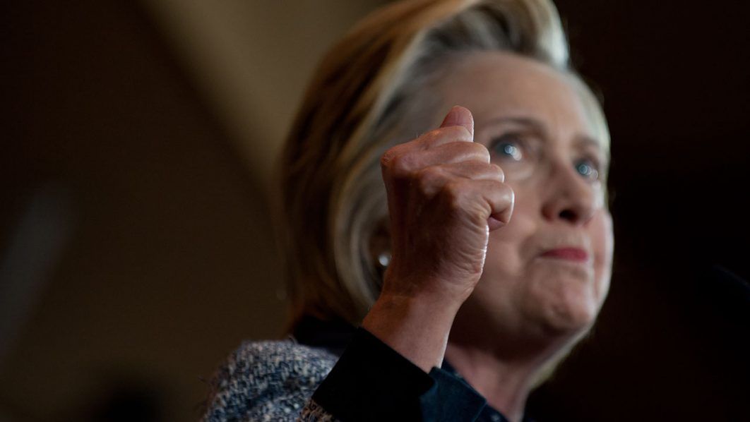 Hillary Clinton. Jeff Swensen/Getty Images/AFP