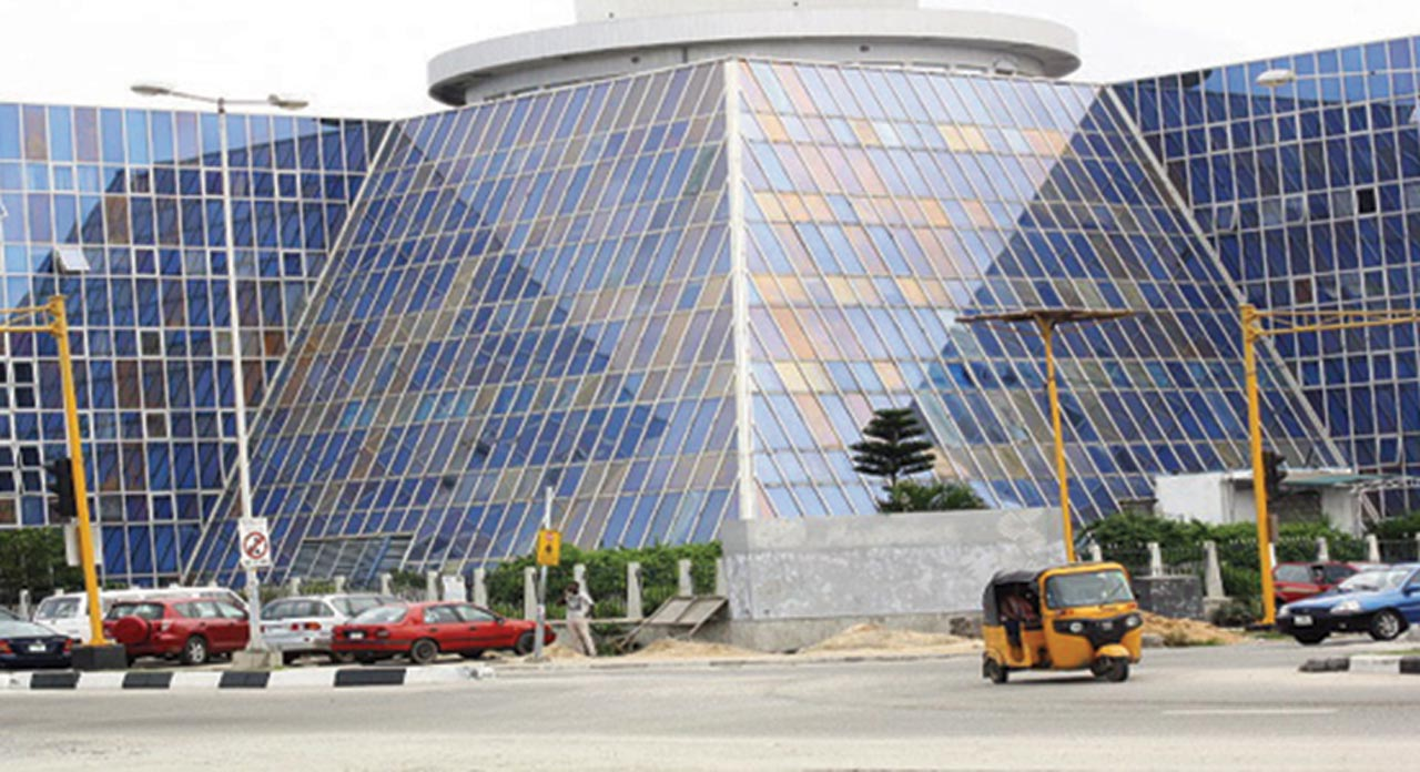 The IMB Plaza on the corner of Ahmadu Bello Way and Akin Adesola Street in Victoria Island, Lagos
