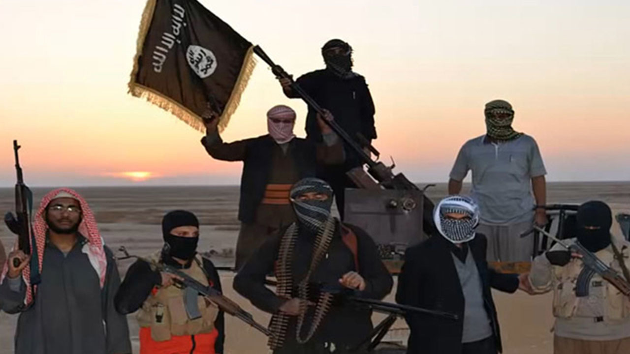 This picture shows Islamic State (IS) militants. File photo/AFP