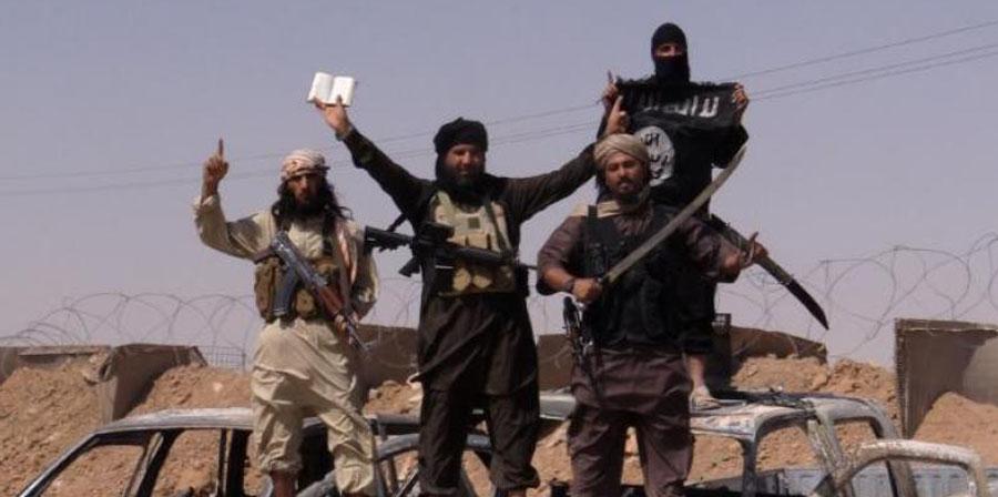 Islamic State Militants. Photo: AFP