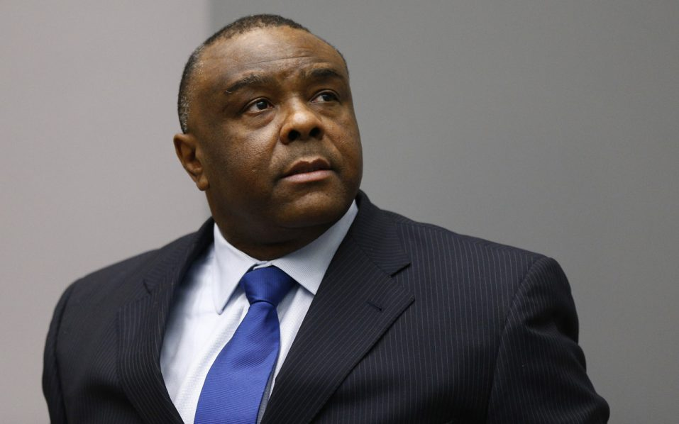 Former Congolese vice-president Jean-Pierre Bemba.  AFP PHOTO / POOL / Michael Kooren