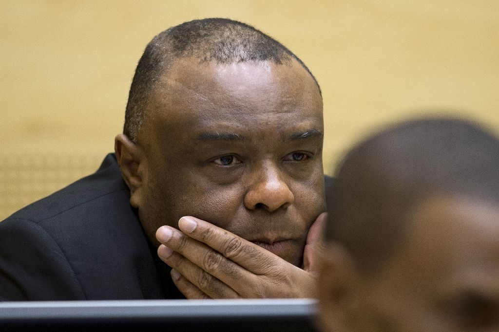 Former Congolese vice-president Jean-Pierre Bemba has been convicted on five charges of war crimes and crimes against humanity and is awaiting sentence. PHOTO: AFP/PETER DEJONG
