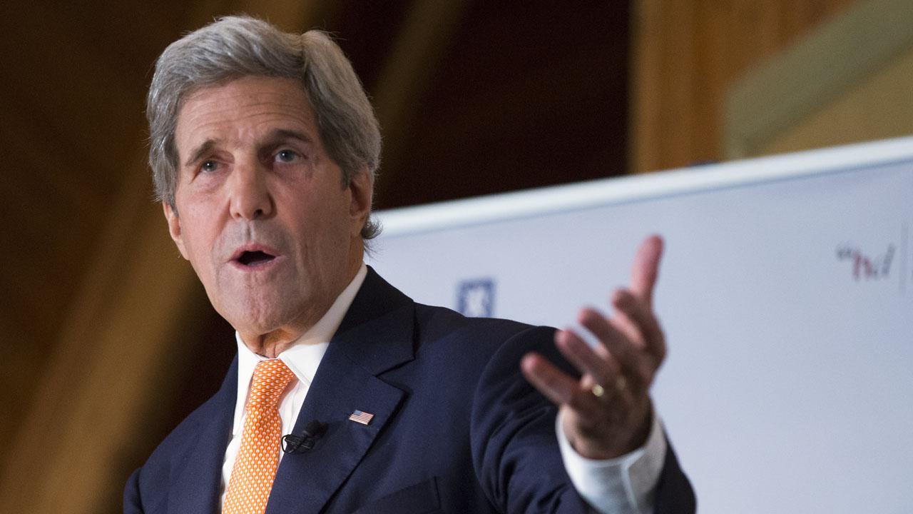 US Secretary of State, John Kerry. / AFP PHOTO / POOL / Evan Vucci