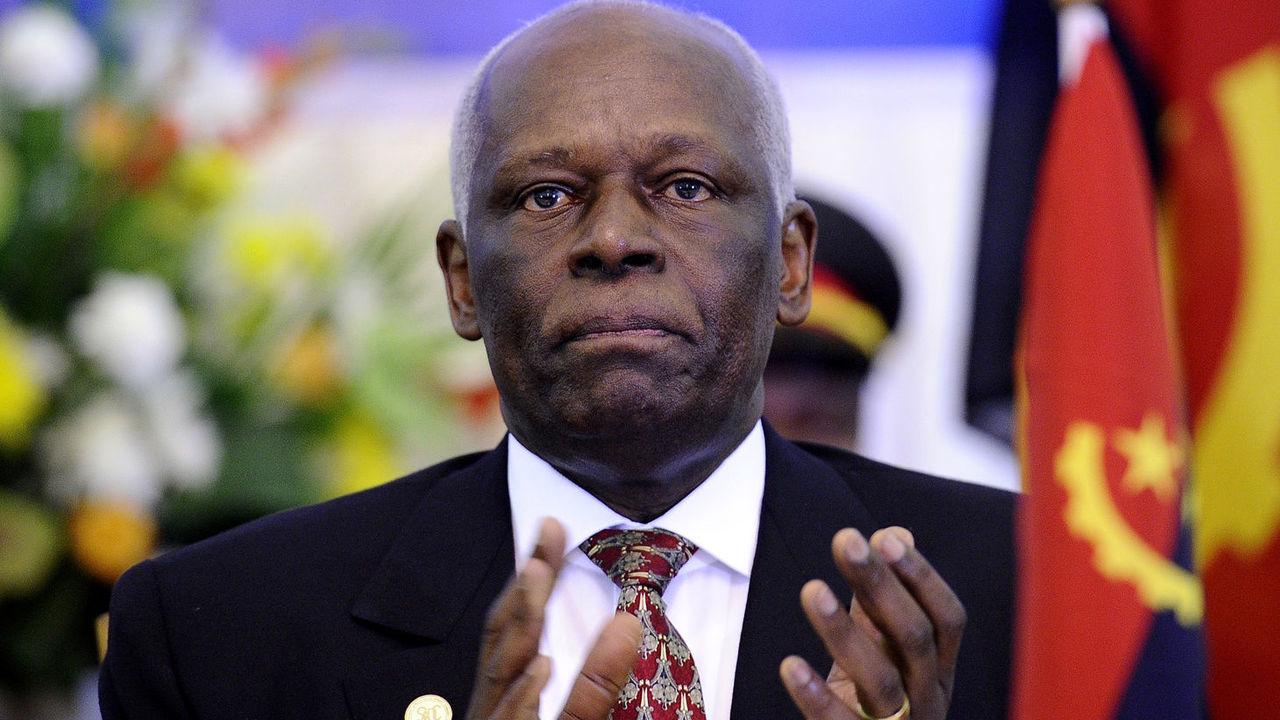 Angola's President José Eduardo dos Santos. (AFP)
