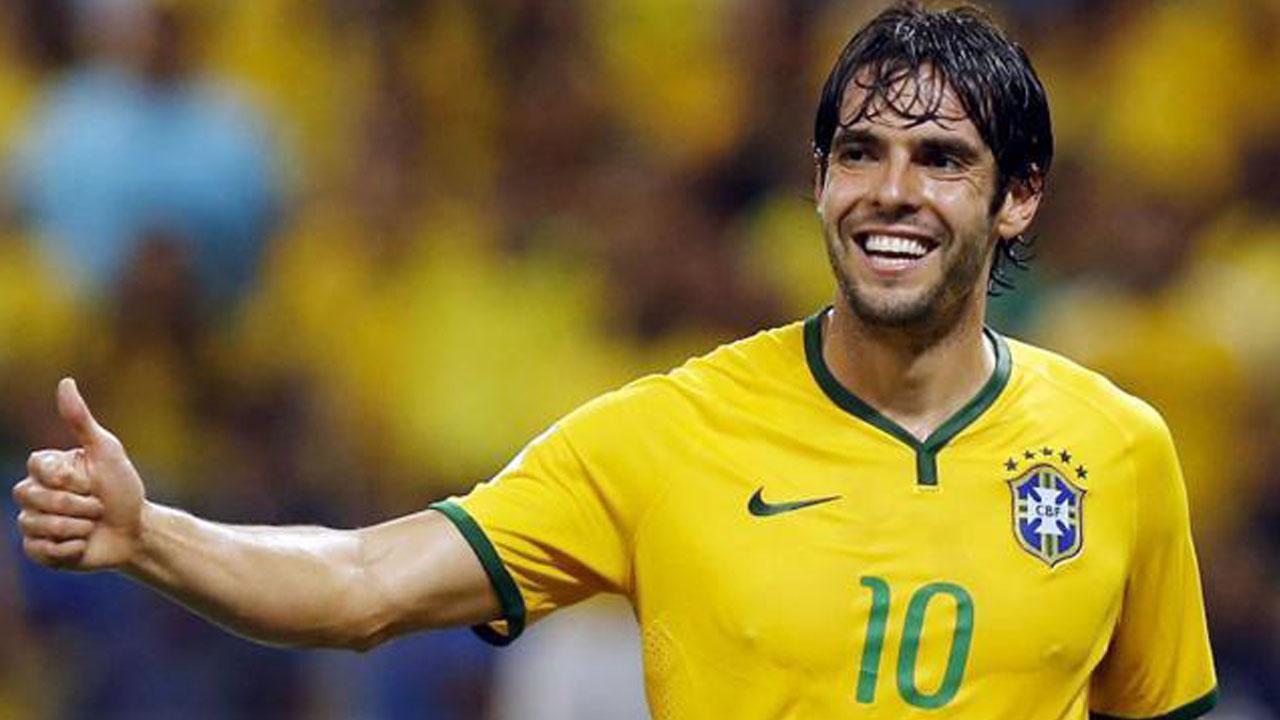 Brazil midfielder Kaka. (AFP Photo)