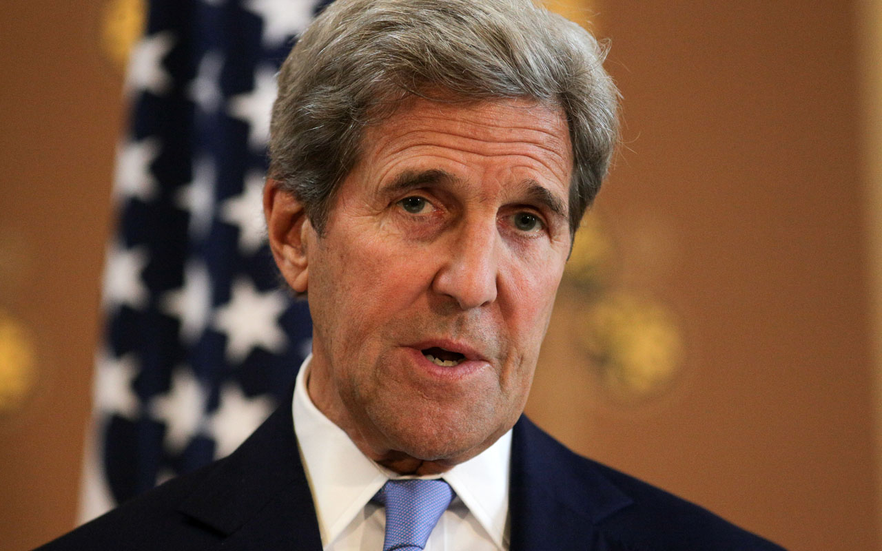 John Kerry / AFP PHOTO / Daniel Leal-Olivas/AFP