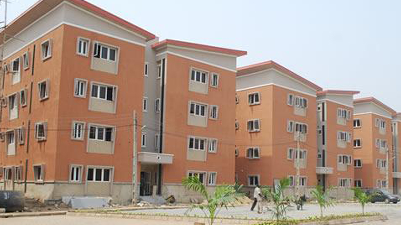An housing estate owned by Lagos Homs Government. PHOTO: LAGOS HOMS