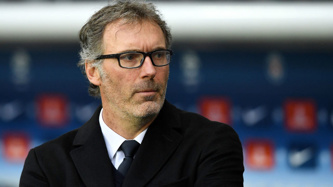 Laurent Blanc  / AFP PHOTO / FRANCK FIFE